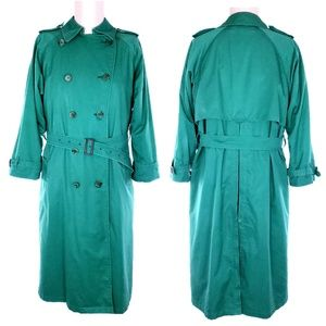 Burberry 100% Wool Trench Coats Size 12 Long